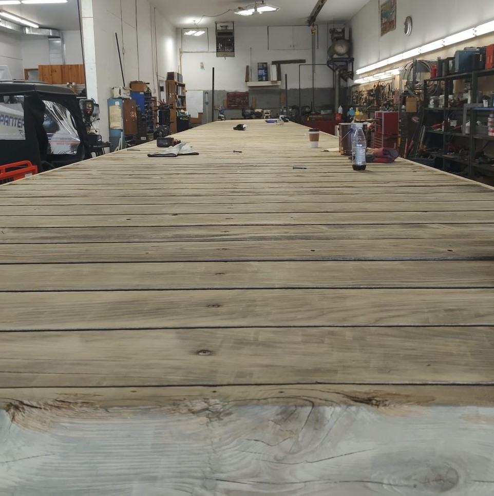 Dock in the shop