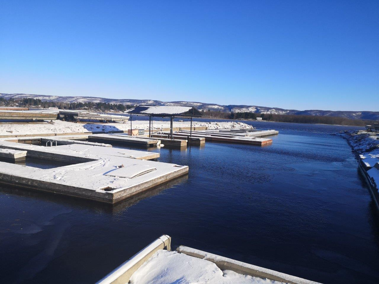 West harbour becomes dock storage